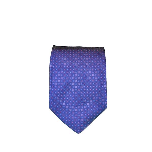 Cravatta seta indaco scuro