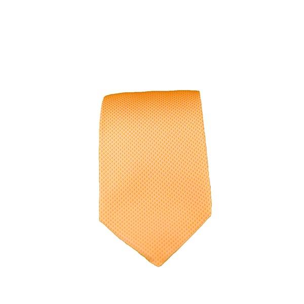 Cravatta seta arancione