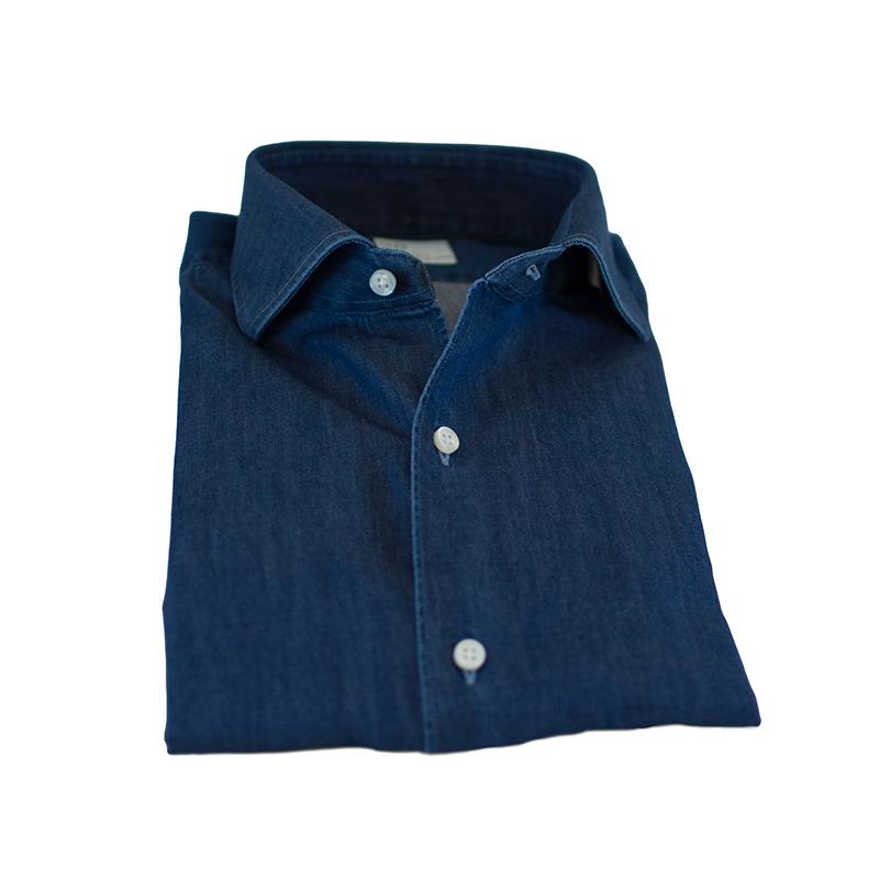 Camicia cotone denim
