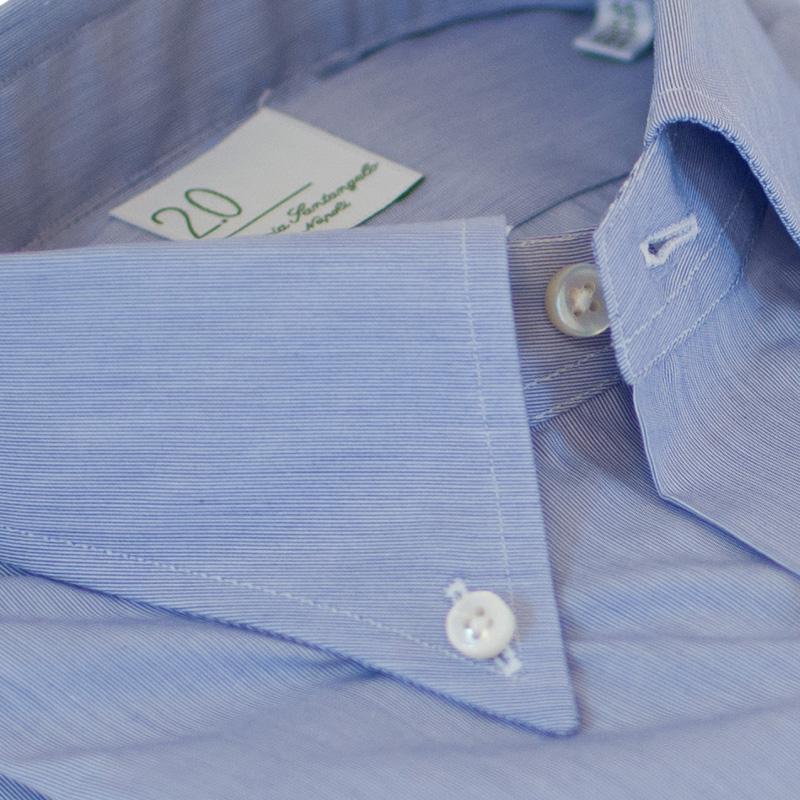 Camicia cotone azzurra