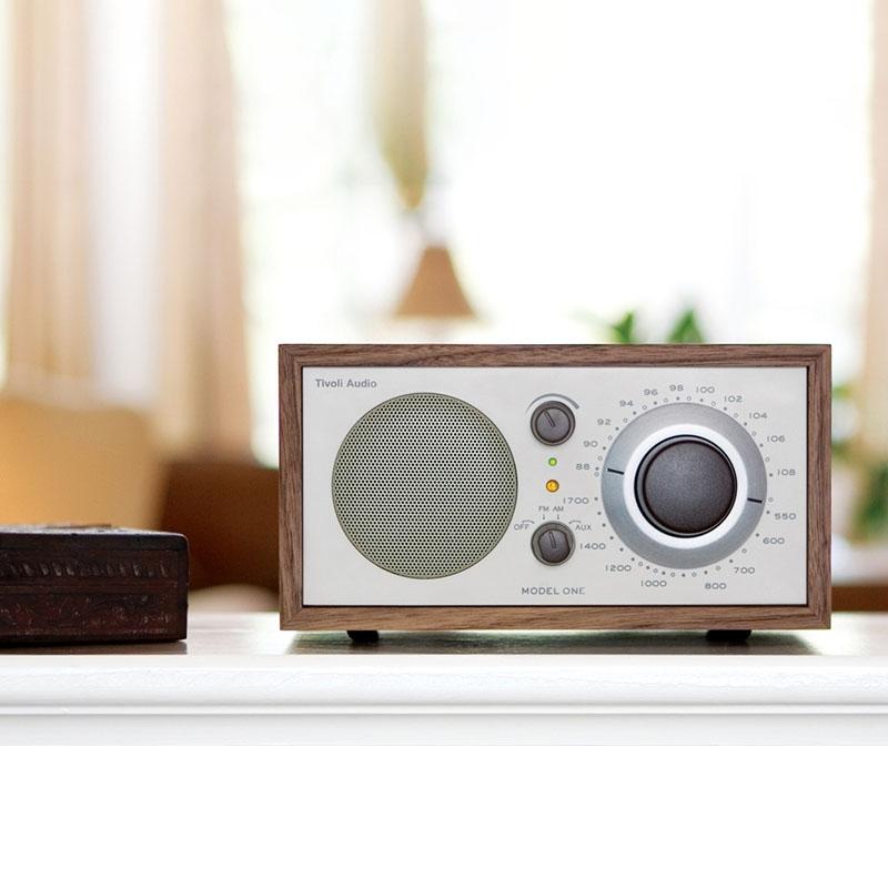 Tivoli Model One Bluetooth in walnut/beige