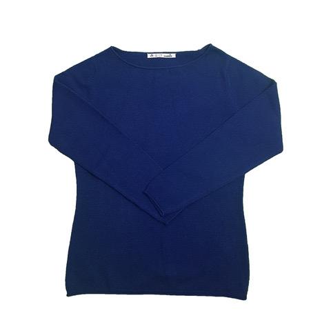 Maglia Donna Cashmere girocollo (colori: ottanio, bluette, nero, ghiaccio)