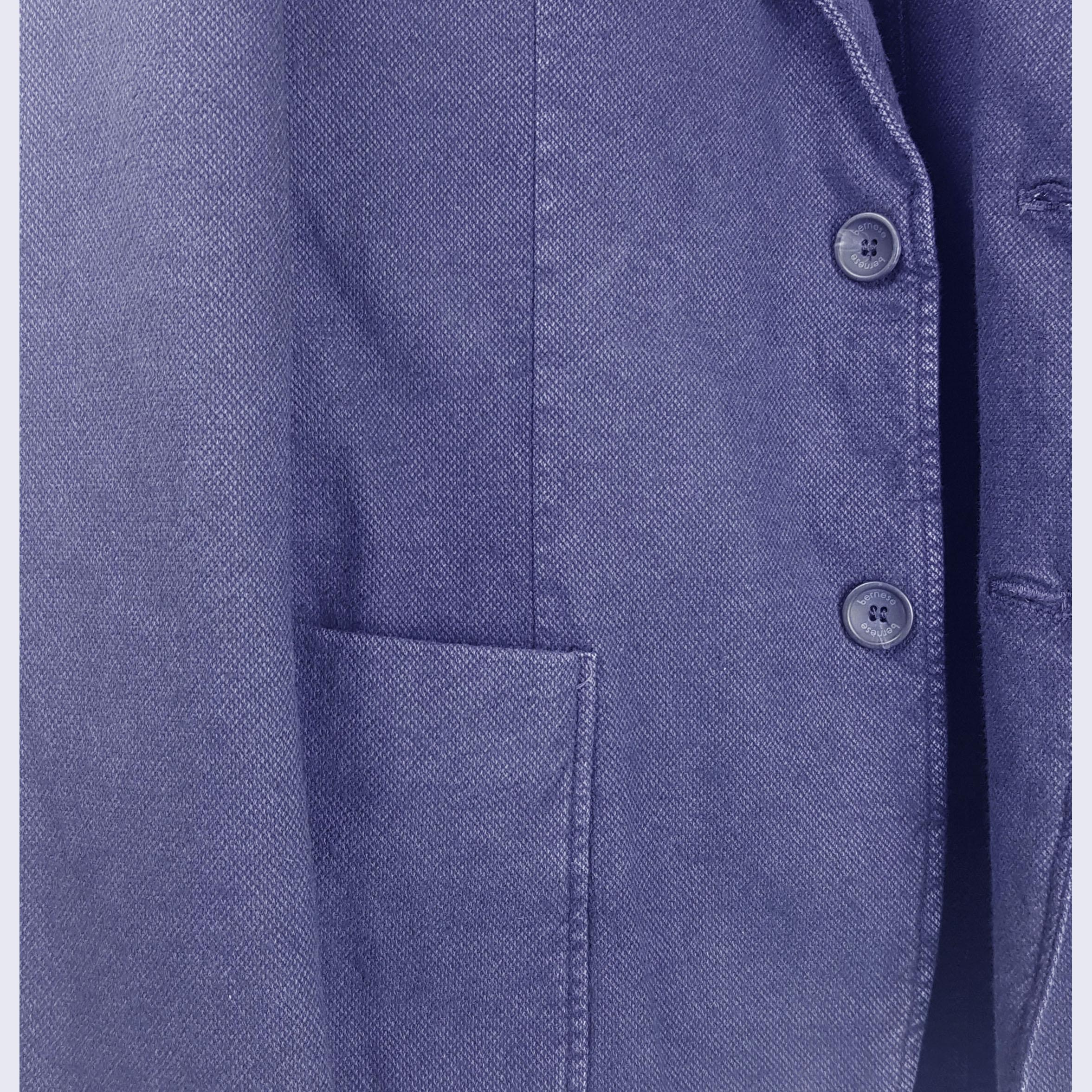 Giacca Monopetto Blu Uomo