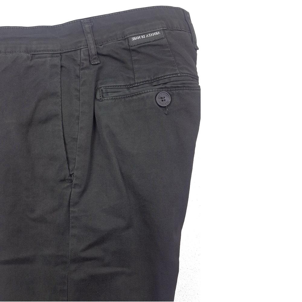 Pantalone Chino Cotone Cenere