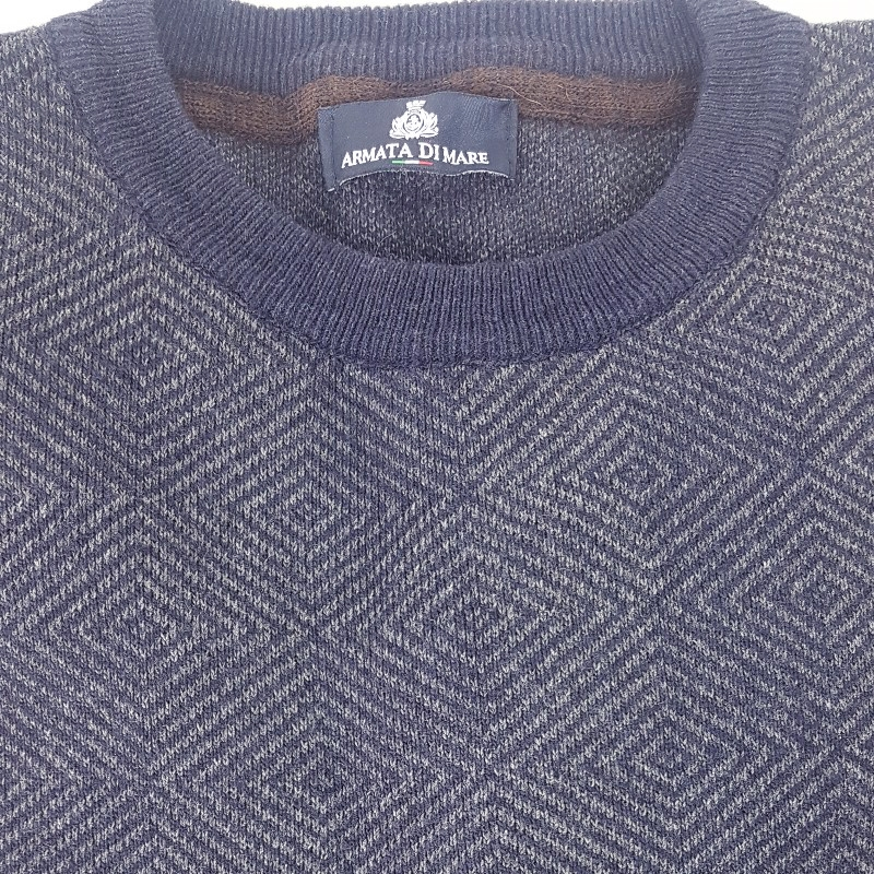 Maglione Blu Uomo