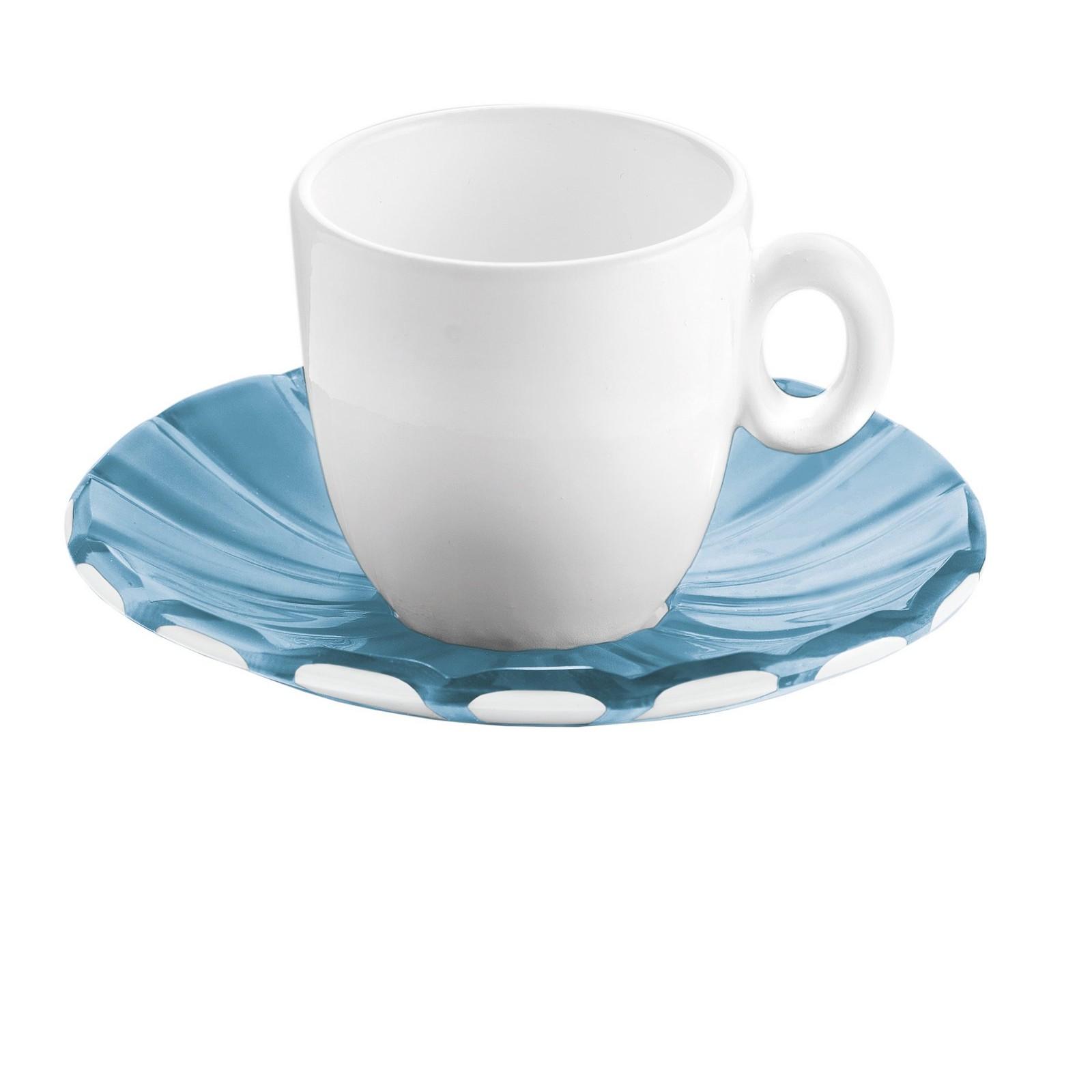 Set due tazzine con piattini