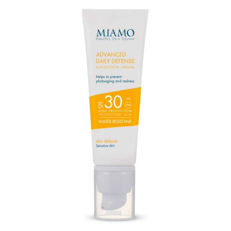 Advanced daily defense sunscreen cream spf 30