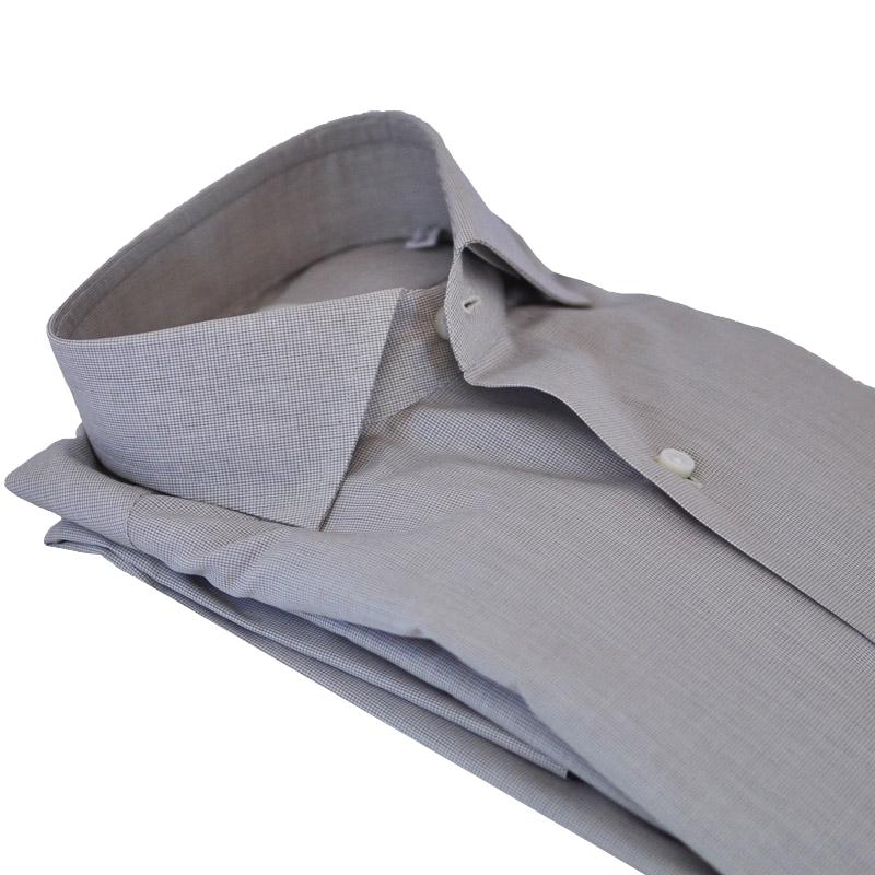 Camicia cotone quadretto