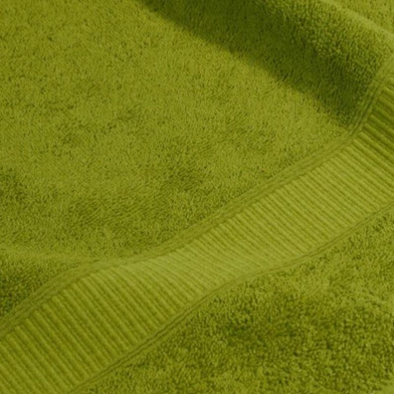 Asciugamano 100% cotone verde