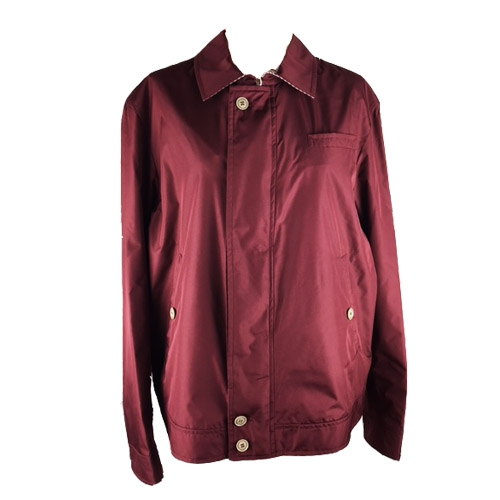 Giubbotto Reversibile Uomo bordeaux/righini Tg50