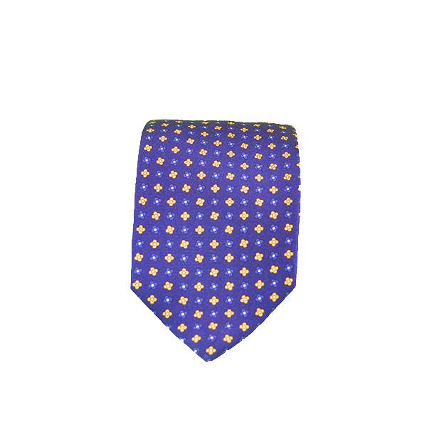 Cravatta seta viola