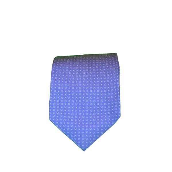 Cravatta seta blu reale