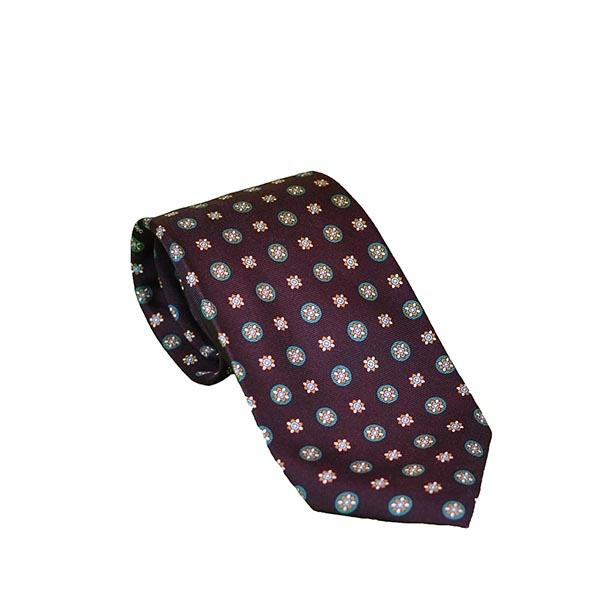 Cravatta seta blu oltremare