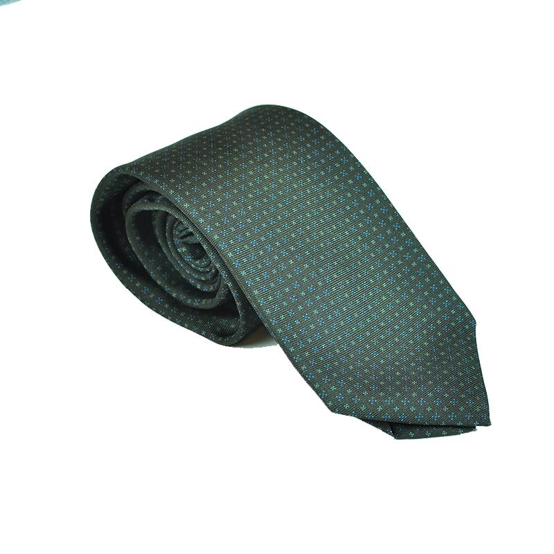 Cravatta seta grigio talpa