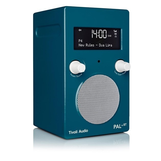 Tivoli Audio PAL+Bluetooth in Deep Ocean Teal