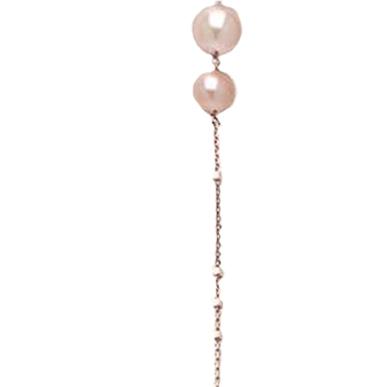 Collana in argento 925 con Perle Fresh Water MU 6/6-5 8/8-5