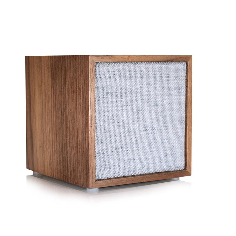 Altoparlante Cube Tivoli Wireless Speaker in Walnut/Grey