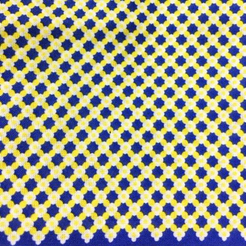 Pochette fantasia 5 pz - giallo piccoli fiori, blu e giallo