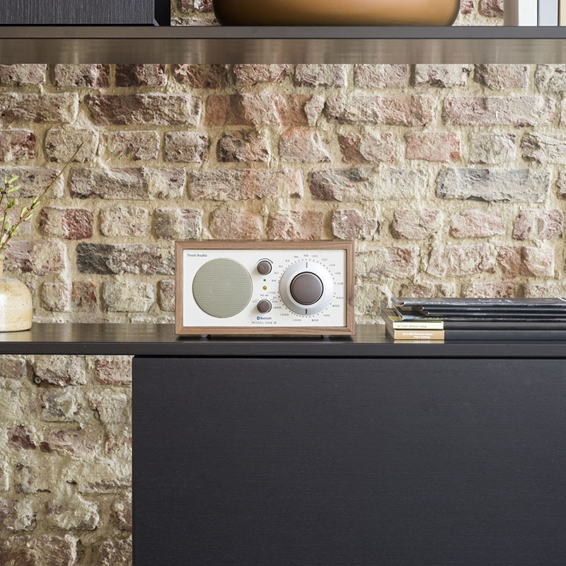 Tivoli Model One Bluetooth in walnut/beige