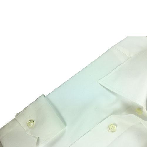 Camicia Oxford Bianca-Collo Nerano