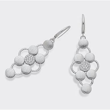 Orecchini in argento 925 Zirconi