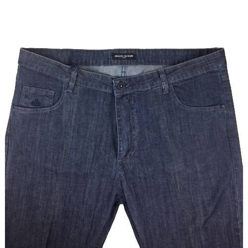 Pantalone uomo denim scuro