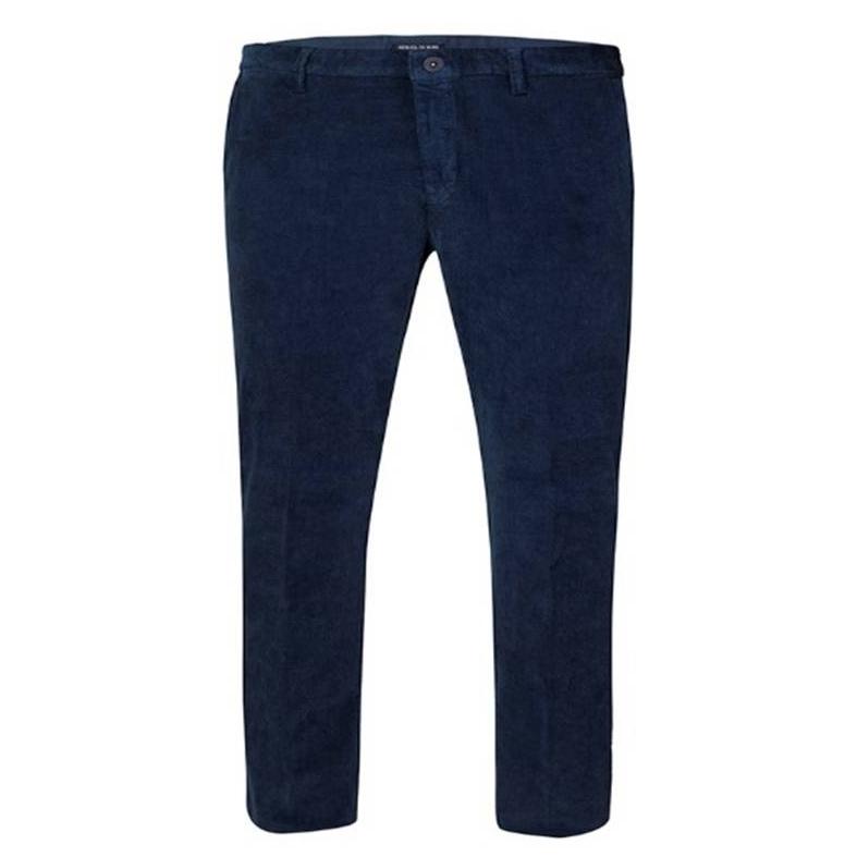 Pantalone Chino Velluto Blu