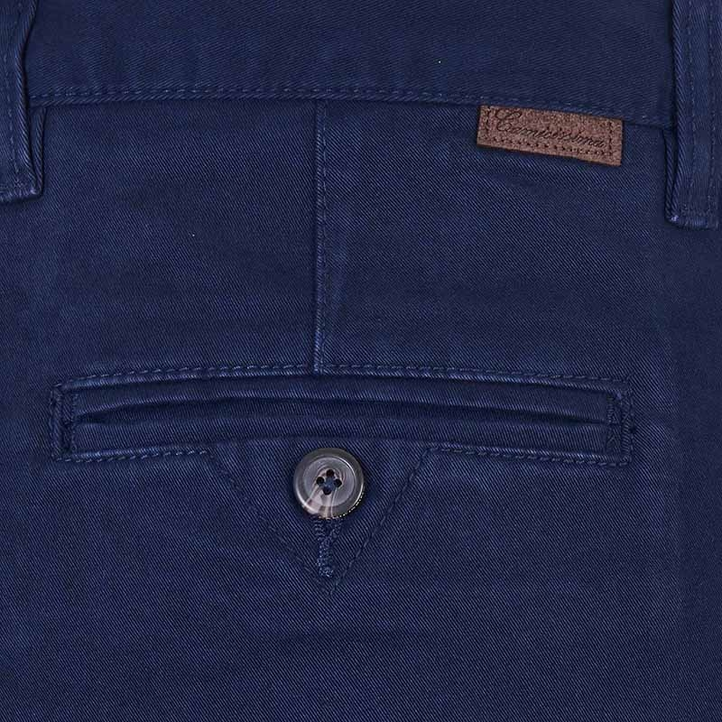 Pantalone strech denim Blue Navy