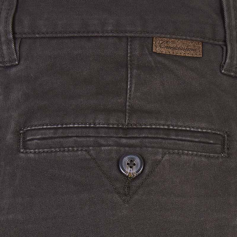 Pantalone strech denim Brown