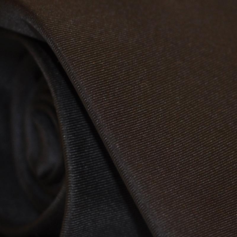 Cravatta seta nera