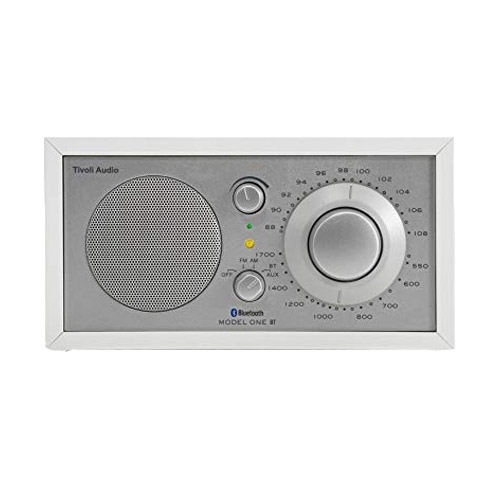 Radio Model One in silver/white