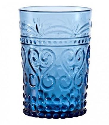 Set 6 bicchieri Provenzale rock acquamarina