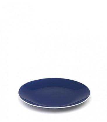 Set 2 piatti piani Rhapsody in blue in porcellana