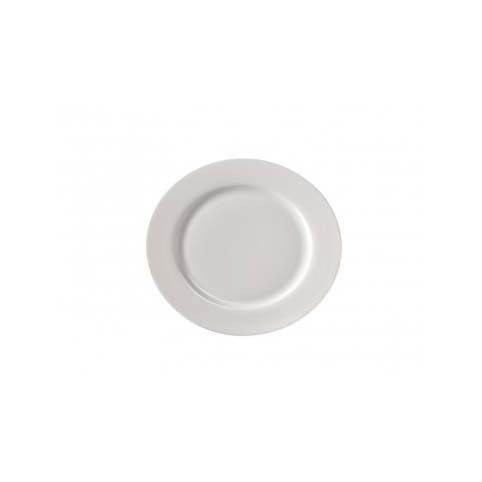Set 6 piatti piani Extrafine porcelain bianchi
