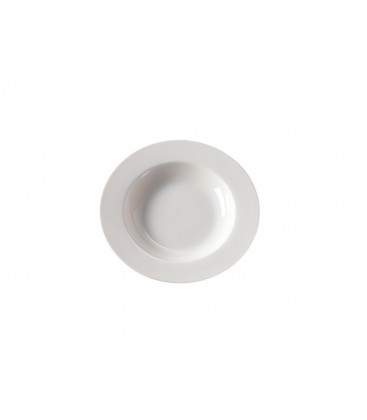 Set 6 piatti Extrafine porcelain fondina bianchi