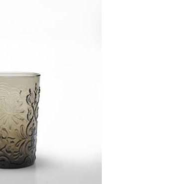 Set 6 bicchieri Barocco rock grigio