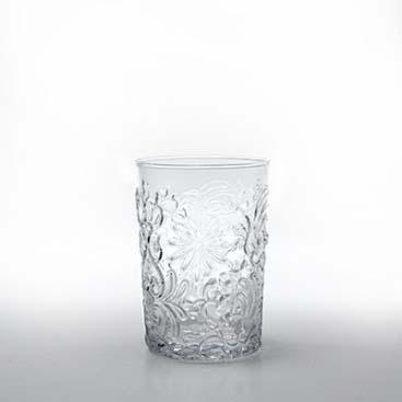 Set 6 bicchieri Barocco rock trasparenti