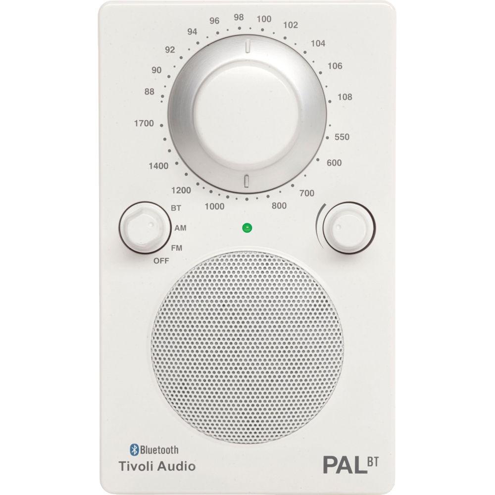 Tivoli PAL Bluetooth in Glossy White/White