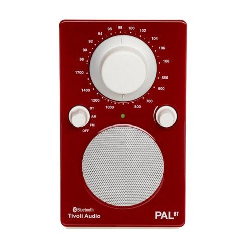 Tivoli PAL+ DAB in glossy red/white
