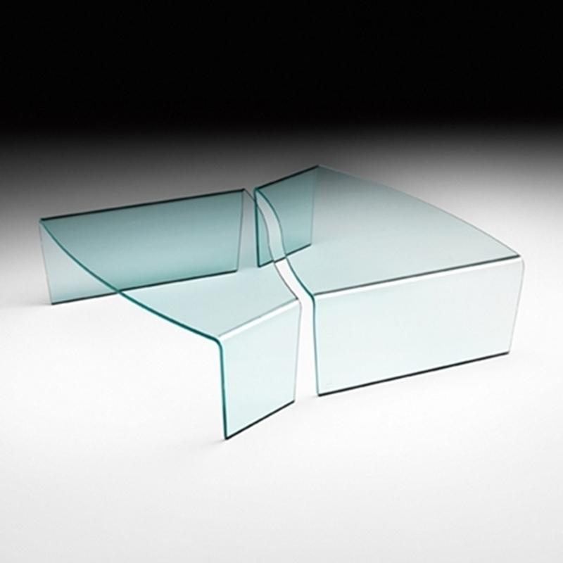 Tavolino virgola bianco